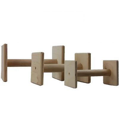Riportello legno quadrato per direttivi Obedience per cani