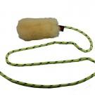 Gioco in pelo di pecora con longhina VIPER RAT per cani