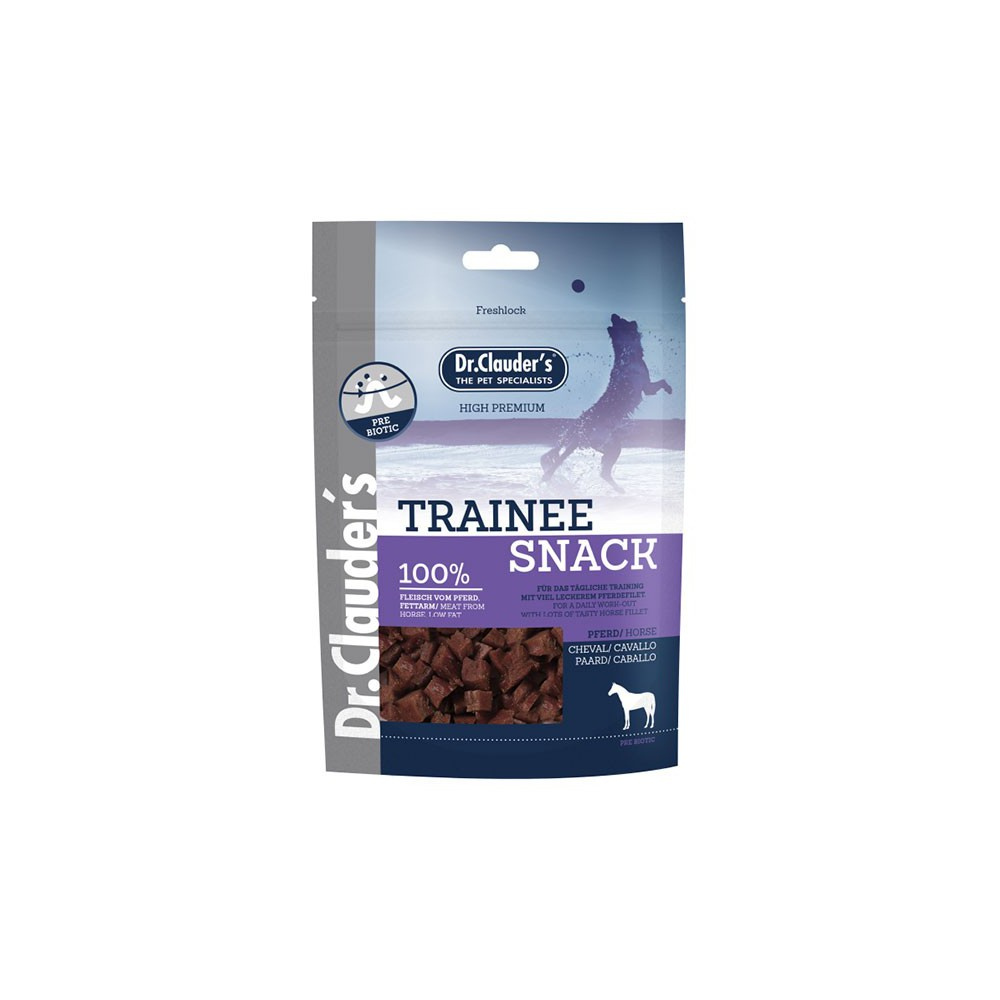 Snack  per Training. Premietti 100% Carne di Cavallo 80 Gr