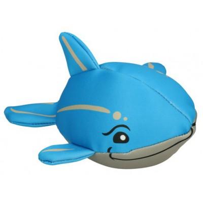 Peluche galleggiante con squeaker Delfino per cani