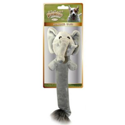 Peluche con squeaker Elefante per cani