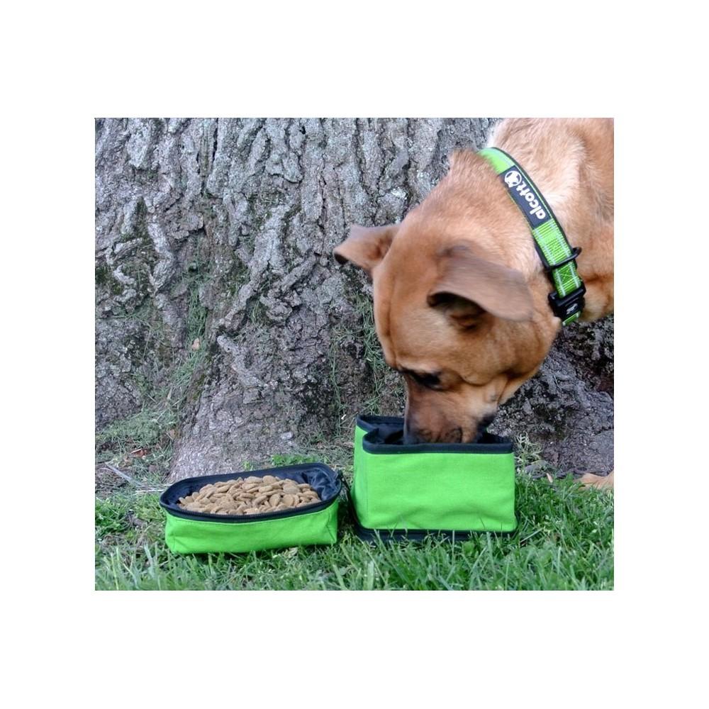 Ciotola nylon doppia richiudibile Explorer per cani