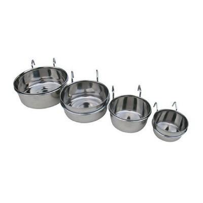 Ciotola acciaio INOX per kennel e box per cani