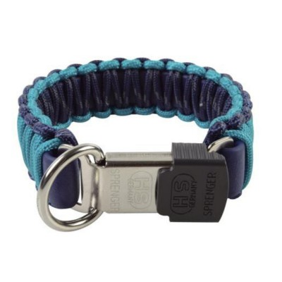 Collare HS Sprenger Paracord Blu per cani