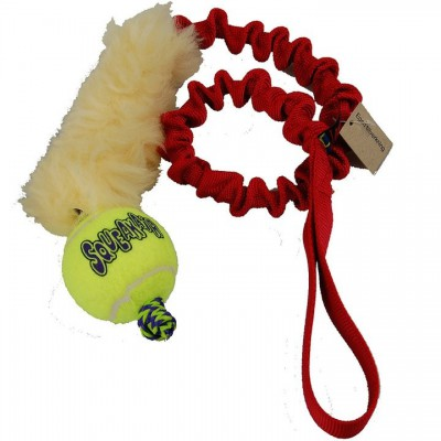 Tug pelo e pallina KONG Maniglia BUNGEE per cani