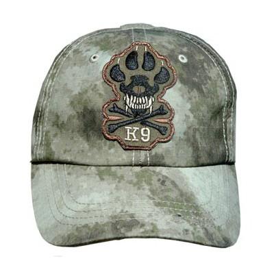 Cappellino conduttore cinofilo regolabile K9 Camo addestramento cani
