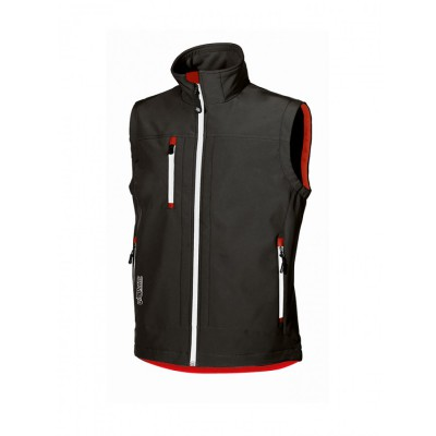 Gilet Soft Shell CLIMB Nero Carbone
