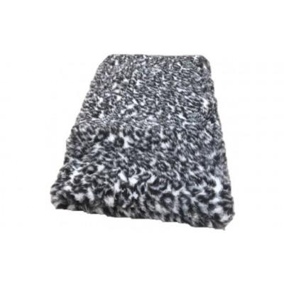 Vet Bed tappeto antiscivolo Grigio Leopardato per cani