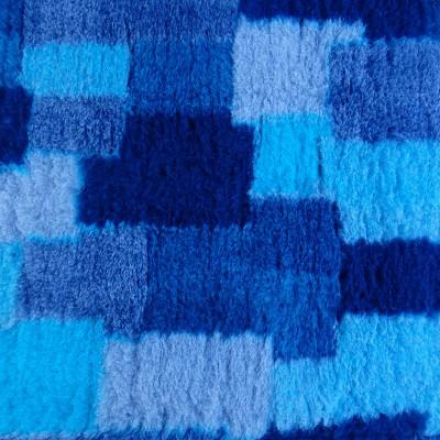 Vet Bed tappeto antiscivolo Patchwork Blu per cani