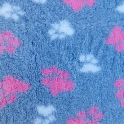 Vet Bed tappeto antiscivolo Grigio e Rosa per cani