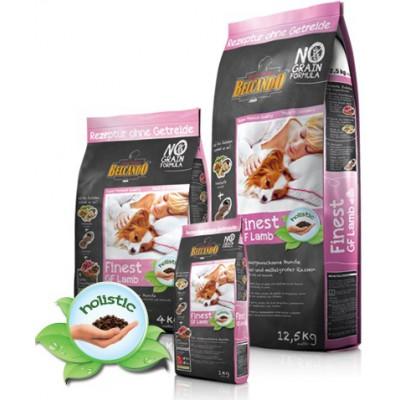 Alimento completo BELCANDO Finest GF Agnello 12,5Kg per cani
