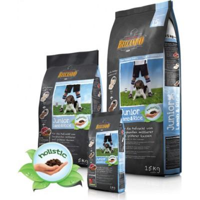 Alimento completo BELCANDO Puppy Agnello e Riso 15 kg. per cani