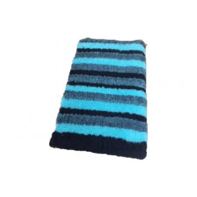 Vet Bed tappeto antiscivolo Righe Blu per cani
