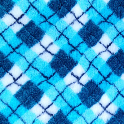 Vet Bed tappeto antiscivolo Scozzese Blu per cani