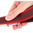 Guinzaglio nylon FERPLAST, sgancio rapido a pinza. 120cm. Rosso per cani