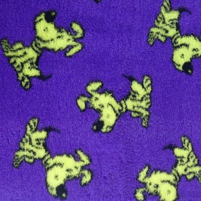Vet Bed tappeto antiscivolo Cagnolini Viola e Verde per cani