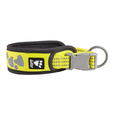 COLLARE W/E WARRIOR GIALLO FLUO HURTTA per cani