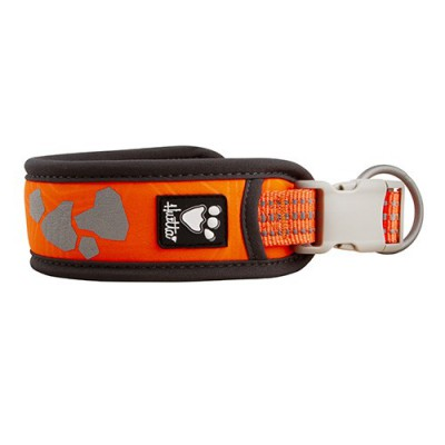 COLLARE W/E WARRIOR ARANCIO FLUO HURTTA per cani