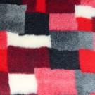 Vet Bed tappeto antiscivolo Patchwork Rosso per cani