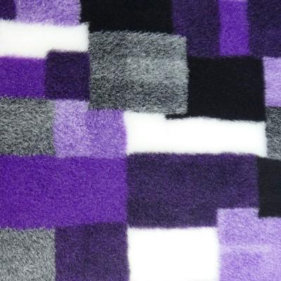 Vet Bed tappeto antiscivolo Patchwork Viola