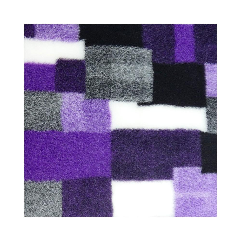 Vet Bed tappeto antiscivolo Patchwork Viola per cani