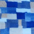 Vet Bed tappeto antiscivolo Patchwork Azzurro e Grigio per cani