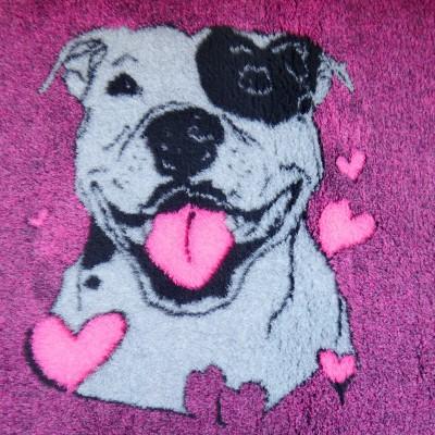 Vet Bed tappeto antiscivolo Amstaff per cani