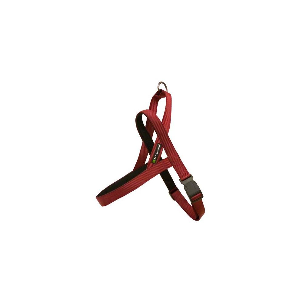 Pettorina Norvegese A2C imbottita. Rossa, 70 CM. per cani