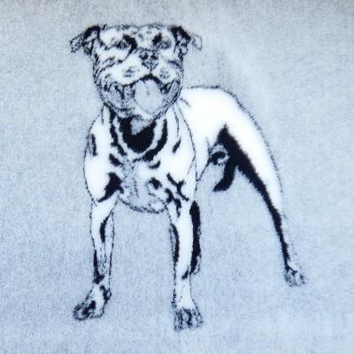 Vet Bed tappeto antiscivolo Pit Bull per cani