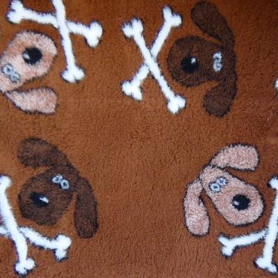 Vet Bed tappeto antiscivolo Teschietti per cani