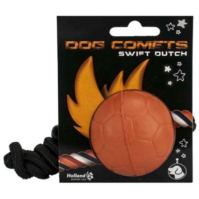 Pallina CORDA singola 100% gomma naturale per cani