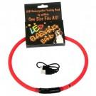 Collare LED ricaricabile con USB L. max 70 cm