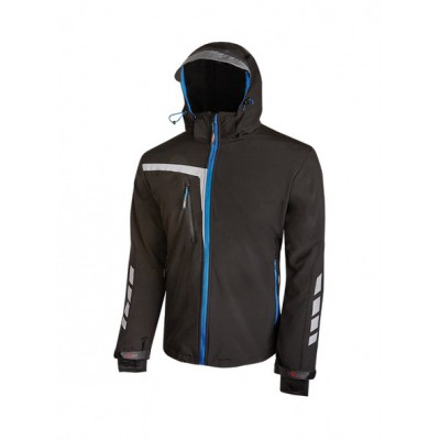 Giacca Softshell QUICK Nera