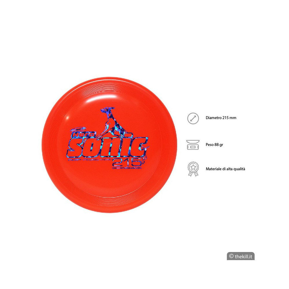 Frisbee DISC DOG HERO SONIC X-TRA 215 ARANCIO per cani