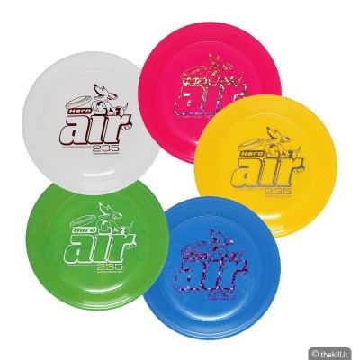 Frisbee DISC DOG HERO AIR 235 ARANCIONE per cani