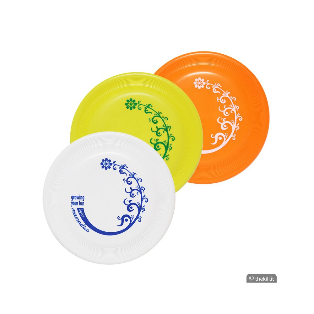 Frisbee DISC DOG MAMADISC LIGHT MINI ARANCIONE per cani