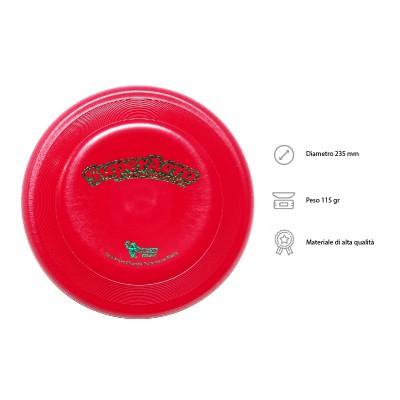 Frisbee Disc Dog Super Aero Starlite Rosso per cani