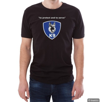 "T-shirt unisex Pastore Tedesco ""To Protect and To Serve"""