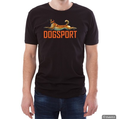 T-Shirt UNISEX conduttore cinofilo DOGSPORT addestramento cani