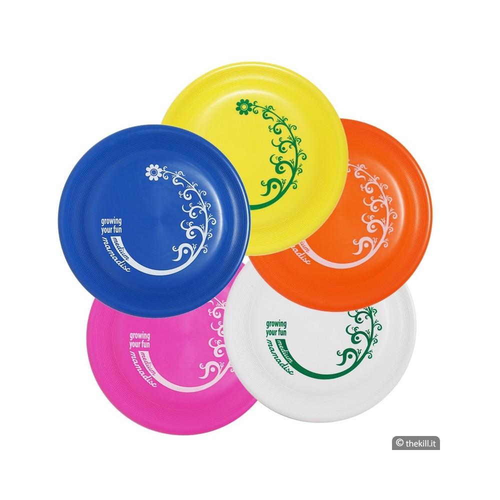 Frisbee Disc Dog MAMADISC MEDIUM ROSA per cani