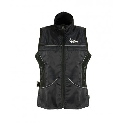 Gilet Estivo Dog4me Safety Nero addestramento cani