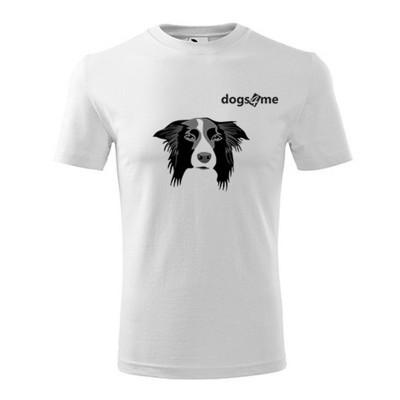 T-shirt unisex Dog4me Border Collie addestramento cani