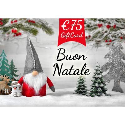 Gift Card  €. 75,00