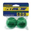 Pallina tennis aromatizzate alla menta - 2 pezzi per cani