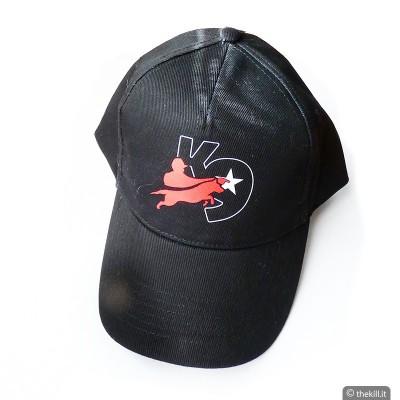Cappellino conduttore cinofilo JULIUS K9 nero addestramento cani