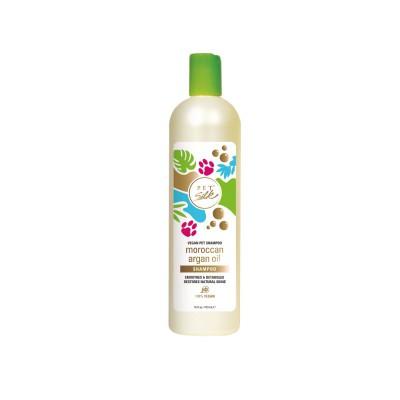 Shampoo all'olio di argan 100% vegano per cani