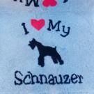 Vet Bed tappeto antiscivolo per cani Schnauzer