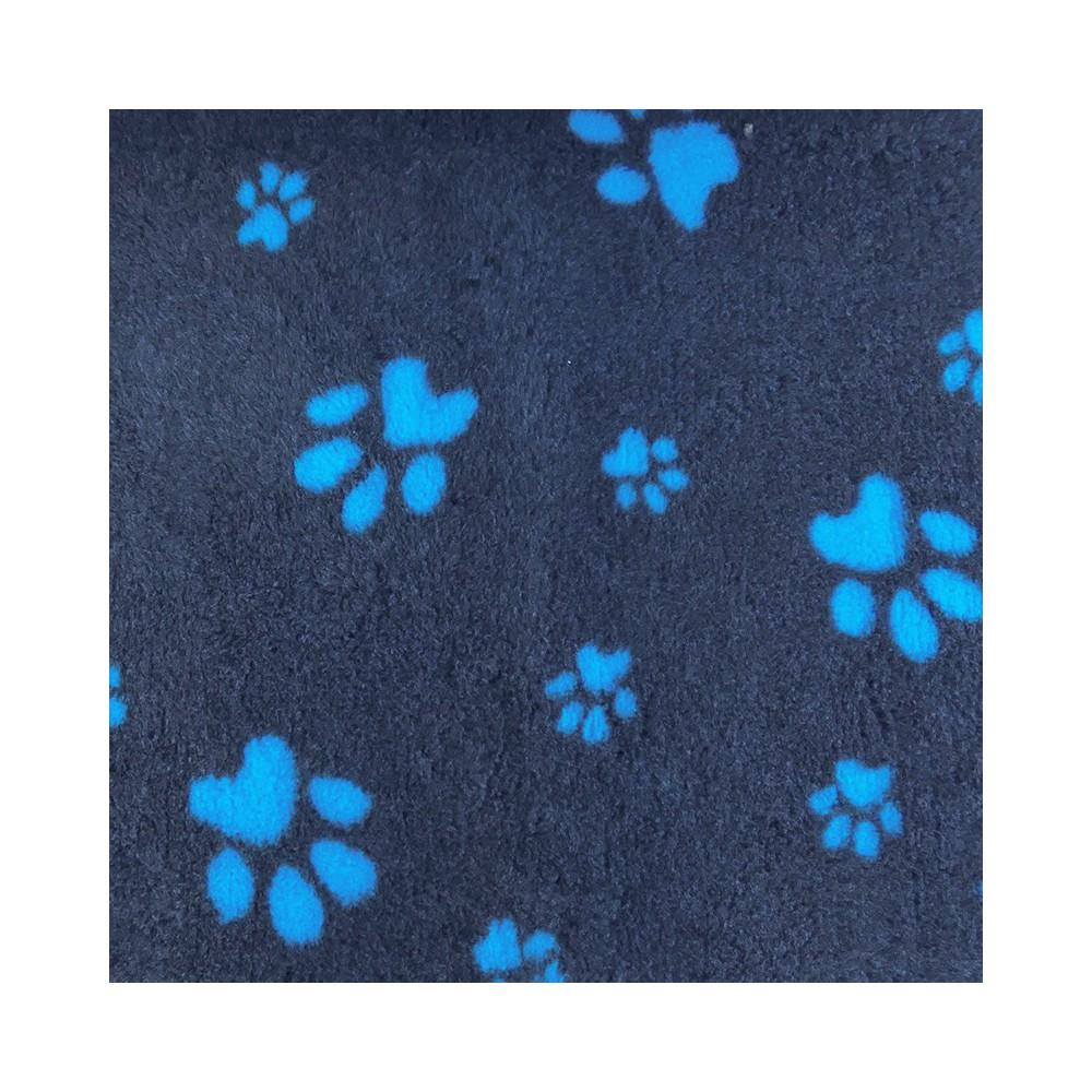 Vet Bed tappeto antiscivolo antracite con Zampe per cani