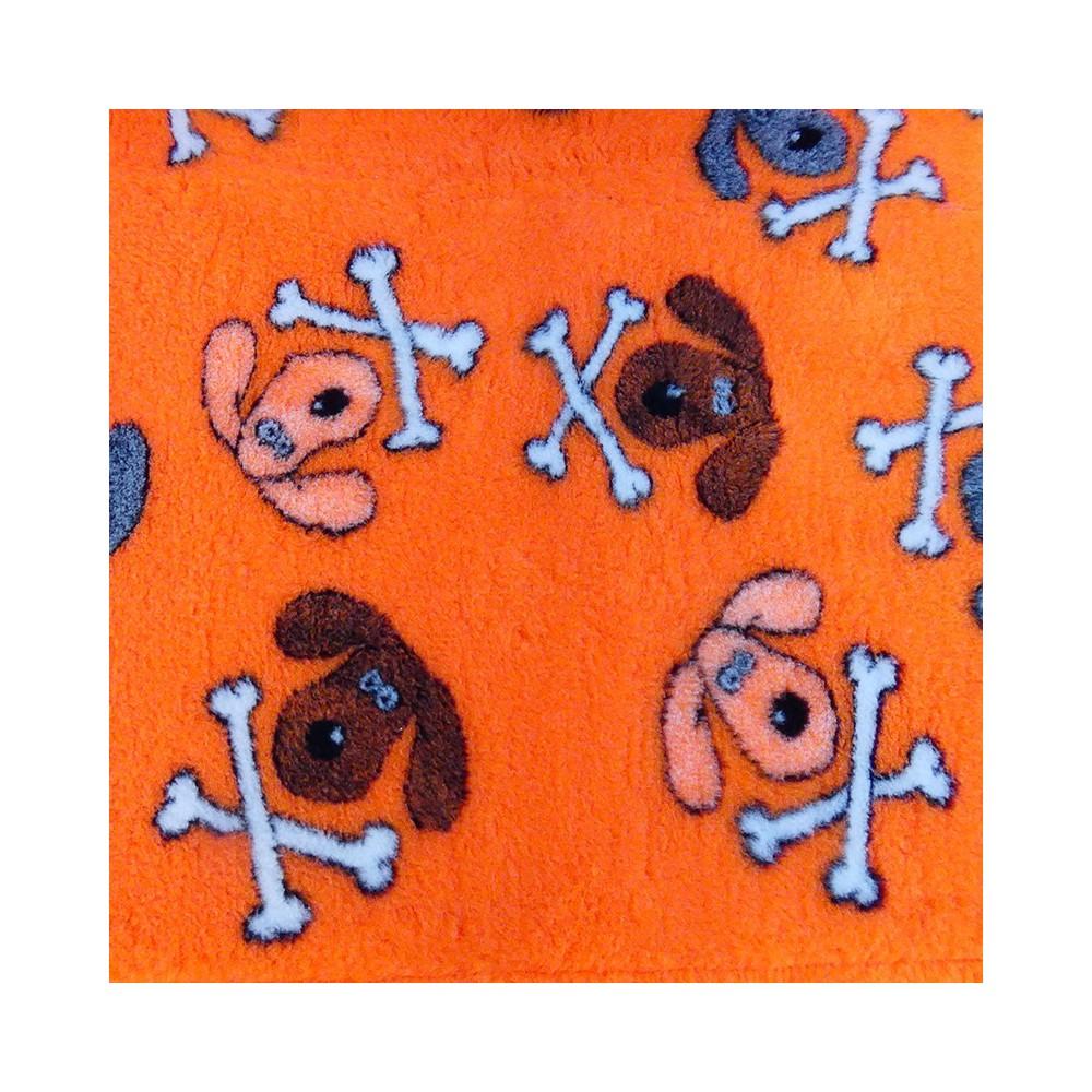 Vet Bed tappeto antiscivolo Teschietti Arancio per cani