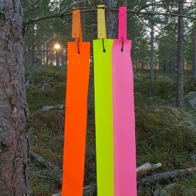 Kit di segnalazione, strisce e morsetti